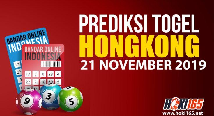 Prediksi Togel Hongkong 21 November 2019