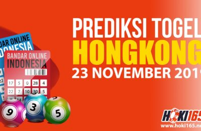 Prediksi Togel Hongkong 23 November 2019