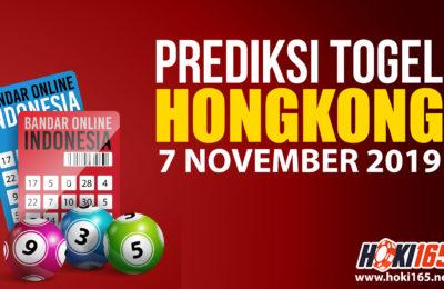 PPREDIKSI TOGEL HONGKONG 7 NOVEMBER 2019