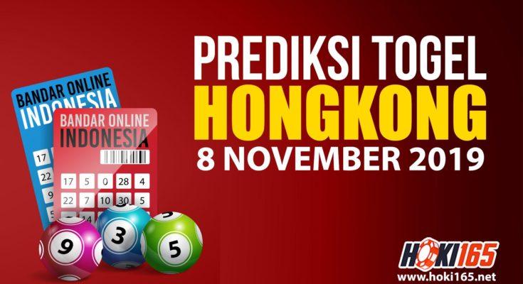 Prediksi Togel Hongkong 8 November 2019