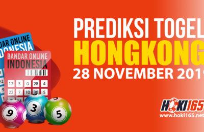 Prediksi Nomor Togel Hongkong 28 November 2019 Jitu Hari Ini