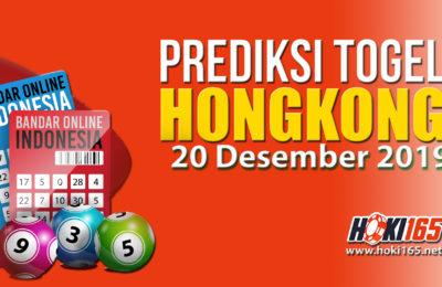 Prediksi Nomor Togel Hongkong 20 Desember 2019 paling Jitu
