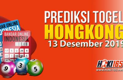 Prediksi Keluaran Hongkong 13 Desember 2019 paling Jitu