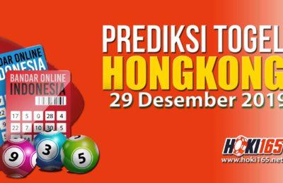 Prediksi Nomor Togel Hongkong 29 Desember 2019 Paling Akurat