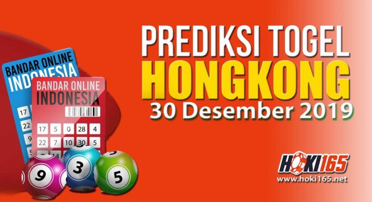 Prediksi Nomor Togel Hongkong 30 Desember 2019 Paling Akurat