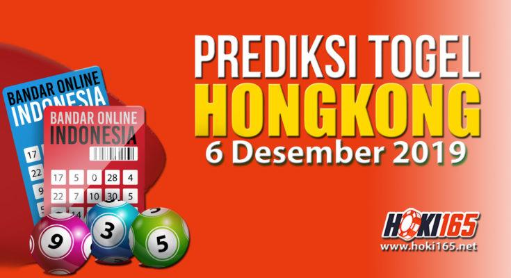 prediksi nomor keluaran hongkong 6 Desember 2019 paling jitu dan paling akurat