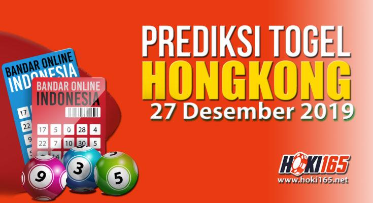 Prediksi Nomor Togel Hongkong 27 Desember 2019 Paling Akurat