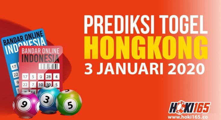 PREDIKSI NOMOR TOGEL HONGKONG 3 JANUARI 2020 PALING AKURAT