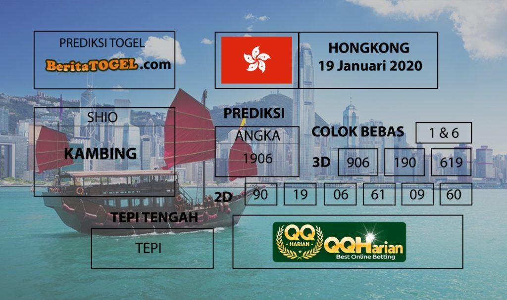 Prediksi Nomor Togel Hongkong 19 Januari 2020