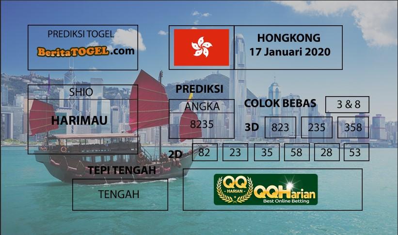 Prediksi Nomor Togel Hongkong 18 Januari 2020