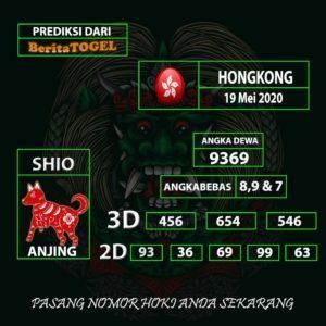 Anjuran Angka Main Hongkong 19 Mei 2020