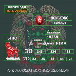 Prediksi Angka Hongkong 18 Mei 2020 Tembus