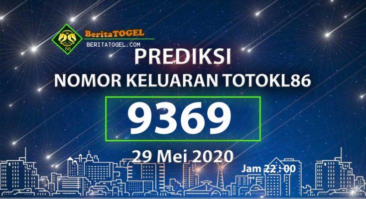 Prediksi Angka TotoKL86 29 Mei 2020 Jam 22:00