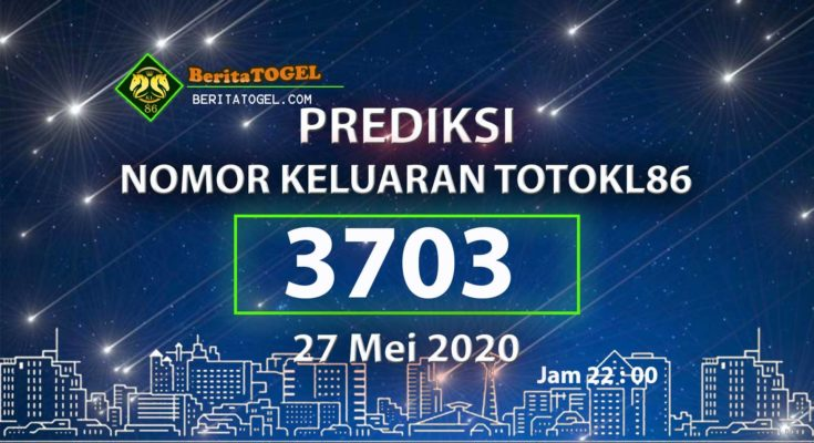Prediksi Nomor TotoKL86 Jam 22:00 27 Mei 2020