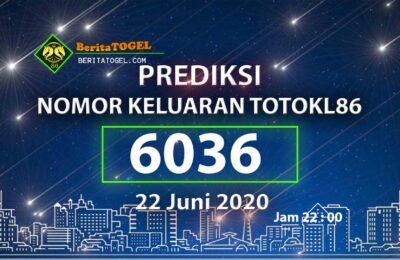 Beritatogel | Anjuran Angka TotoKL86 22 Juni 2020