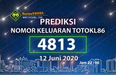 Beritatogel | Prediksi Angka TotoKL86 12 Juni 2020 jam 22:00