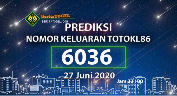 Beritatogel | Prediksi Angka TotoKL86 Tembus 27 Juni 2020