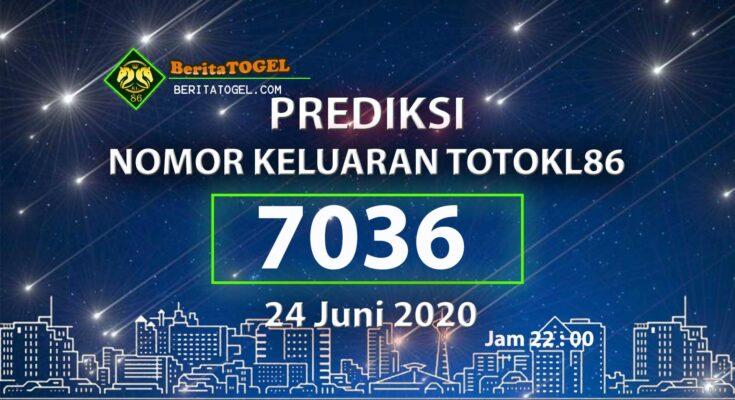 Beritatogel   Prediksi Main TotoKL86 24 Juni 2020