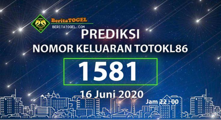 Beritatogel   Prediksi TotoKL86 Tembus 2D 16 Juni 2020 jam 22:00