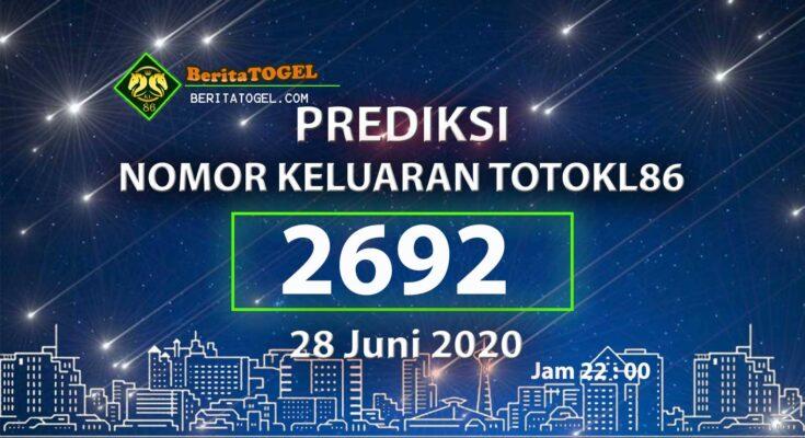 Beritatogel | TotoKL86 Tembus 2D 28 Juni 2020 jam 22:00