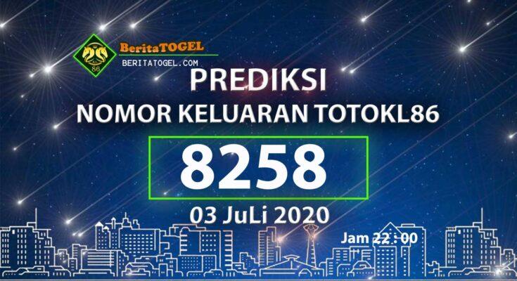 Beritatogel | Angka Main TotoKL86 03 Juli 2020