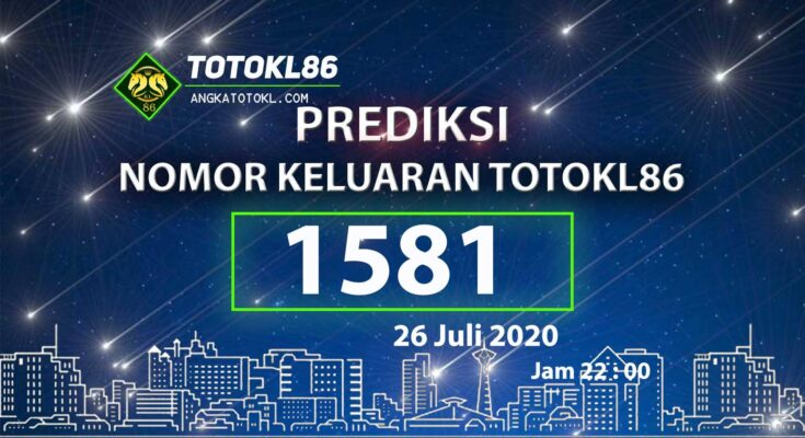 Beritatogel | No Main TotoKL86 Tembus 26 Juli 2020