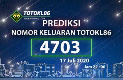Beritatogel | Nomor Main TotoKL86 Jitu 17 Juli 2020