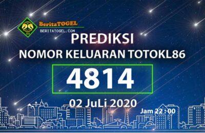 Beritatogel | Prediksi Main TotoKL86 02 Juli 2020