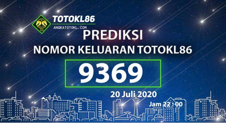 Beritatogel | Prediksi Main TotoKL86 20 Juli 2020