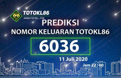 Beritatogel | Prediksi Main TotoKL86 Tembus 11 Juli 2020