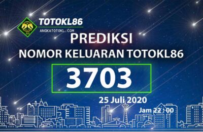 Beritatogel | Prediksi Main TotoKL86 Tembus 2D 25 Juli 2020