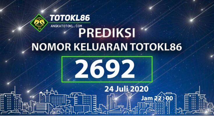 Beritatogel   Prediksi No Main TotoKL86 24 Juli 2020