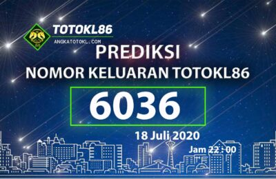 Beritatogel | Prediksi Nomor TotoKL86 18 Juli 2020