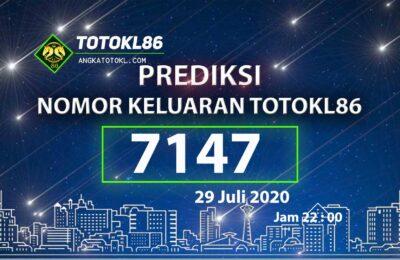 Berita Togel | Prediksi Nomor Main TotoKL86 29 Juli 2020