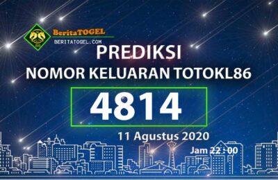 Beritatogel | Prediksi TotoKL86 Online 11 Agustus 2020