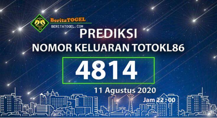 Beritatogel   Prediksi TotoKL86 Online 11 Agustus 2020