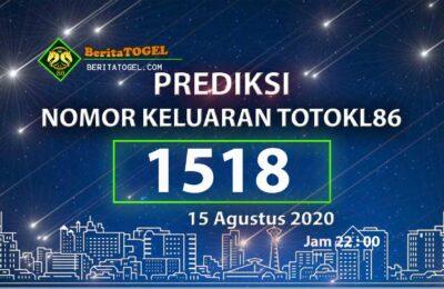 Beritatogel | TotoKL86 Tembus 3D 15 Agustus 2020