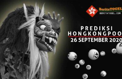 Prediksi Togel Hongkong 26 September 2020