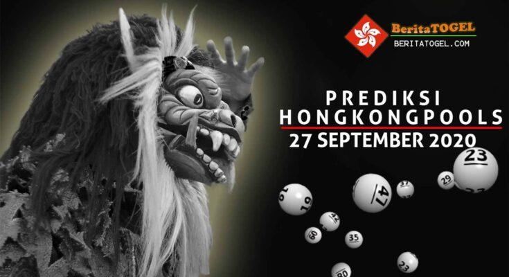 Prediksi Togel Hongkong 27 September 2020