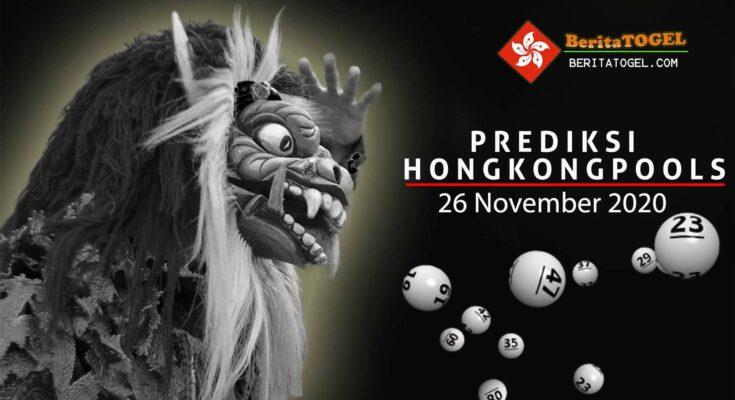 Prediksi Togel Hongkong 26 November 2020