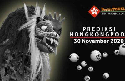 Prediksi Togel Hongkong 30 November 2020