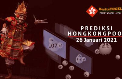 Prediksi Togel Hongkong 26 Januari 2021